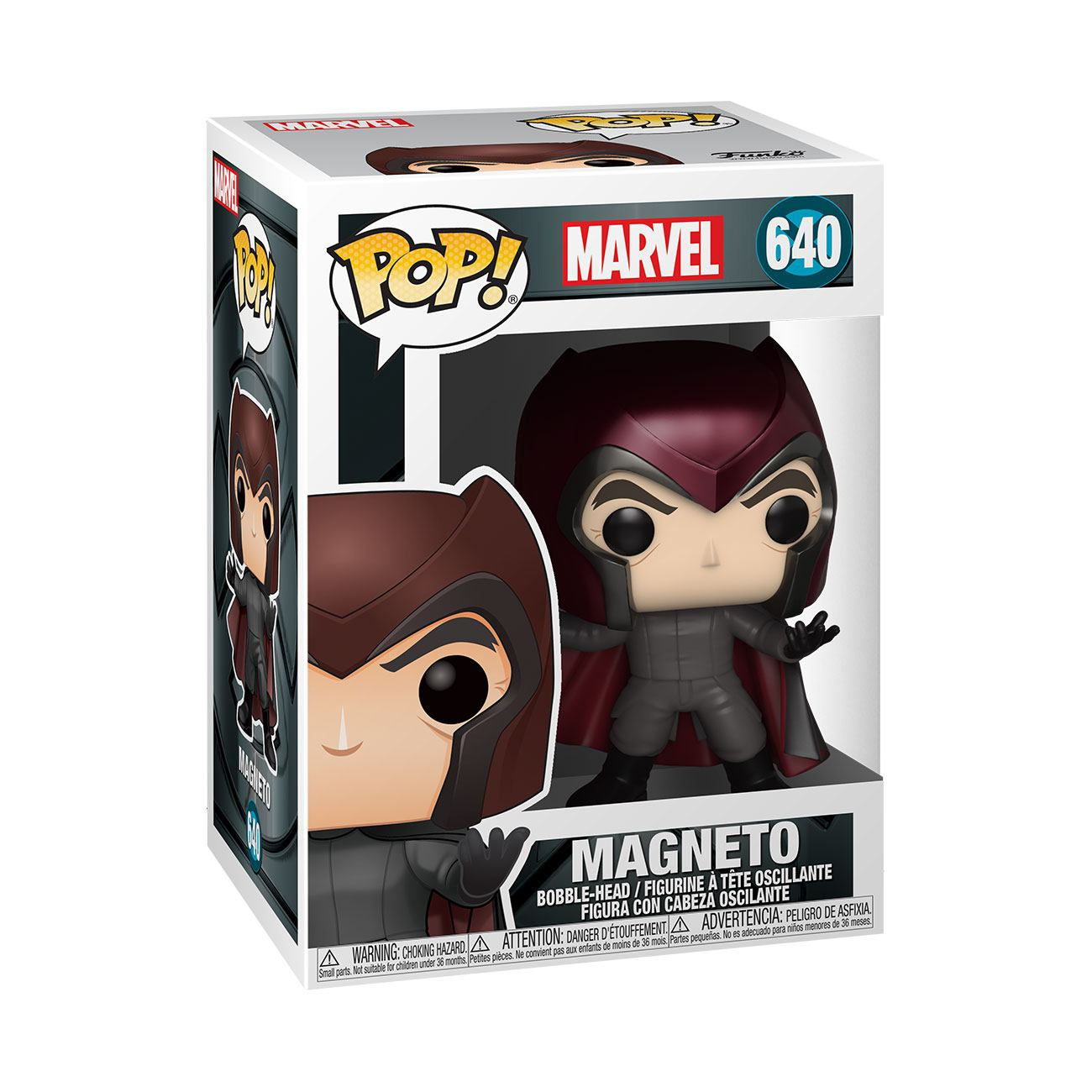 Marvel: X-Men 20th Anniversary - Magneto #640