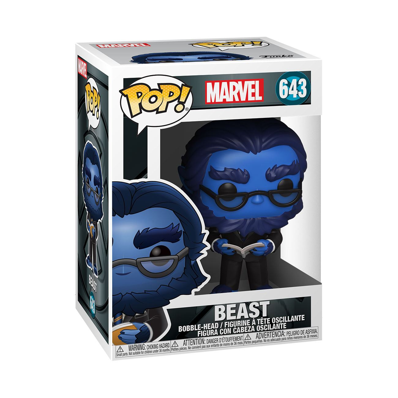 Marvel: X-Men 20th Anniversary - Beast #643