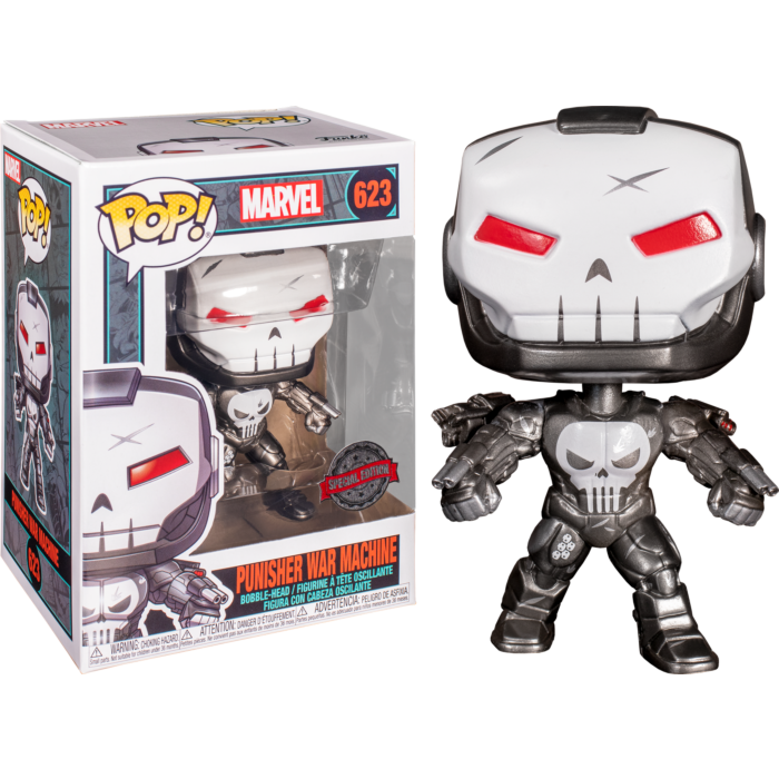 Marvel - Punisher War Machine Metallic #623 + SOFT PROTECTOR