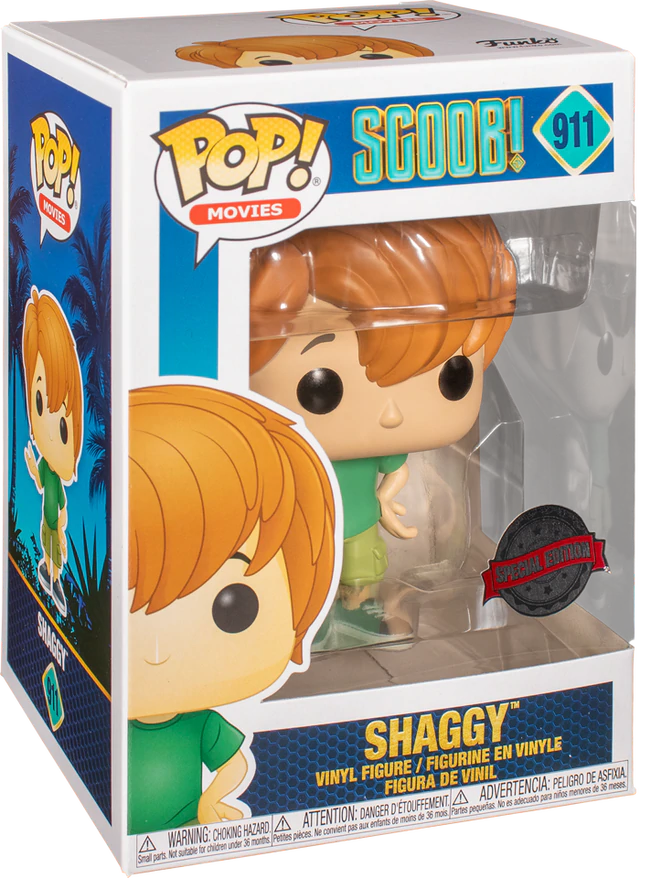 Movies: Scoob! – Shaggy #911 Special Edition