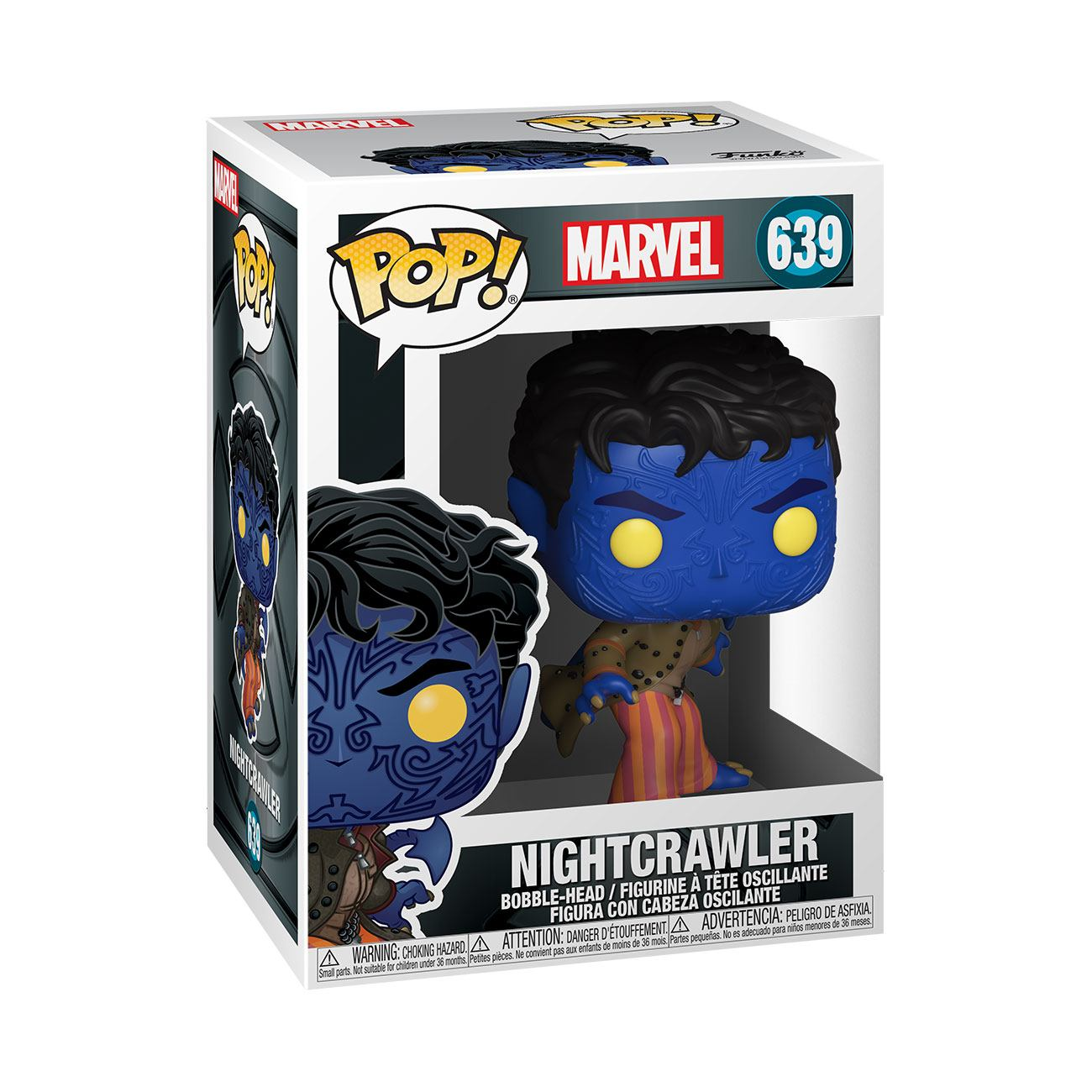 Marvel: X-Men 20th Anniversary - Nightcrawler #639