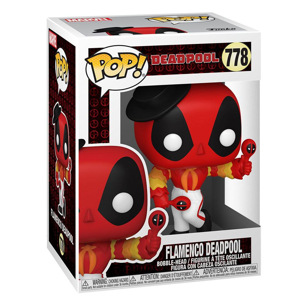 Marvel Deadpool 30th Anniversary - Flamenco Deadpool #778 (PŘEDOBJEDNÁVKA)