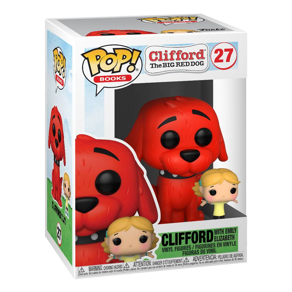 Clifford the Big Red Dog - Clifford w/Emily (PŘEDOBJEDNÁVKA)
